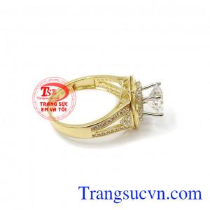 Nhẫn nữ vàng xinh xắn vàng 10k, bảo hành 6 tháng, giao hàng nhanh trên toàn quốc