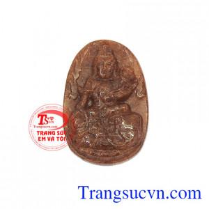 Phật bản mệnh tuổi thìn-tỵ thạch anh tóc