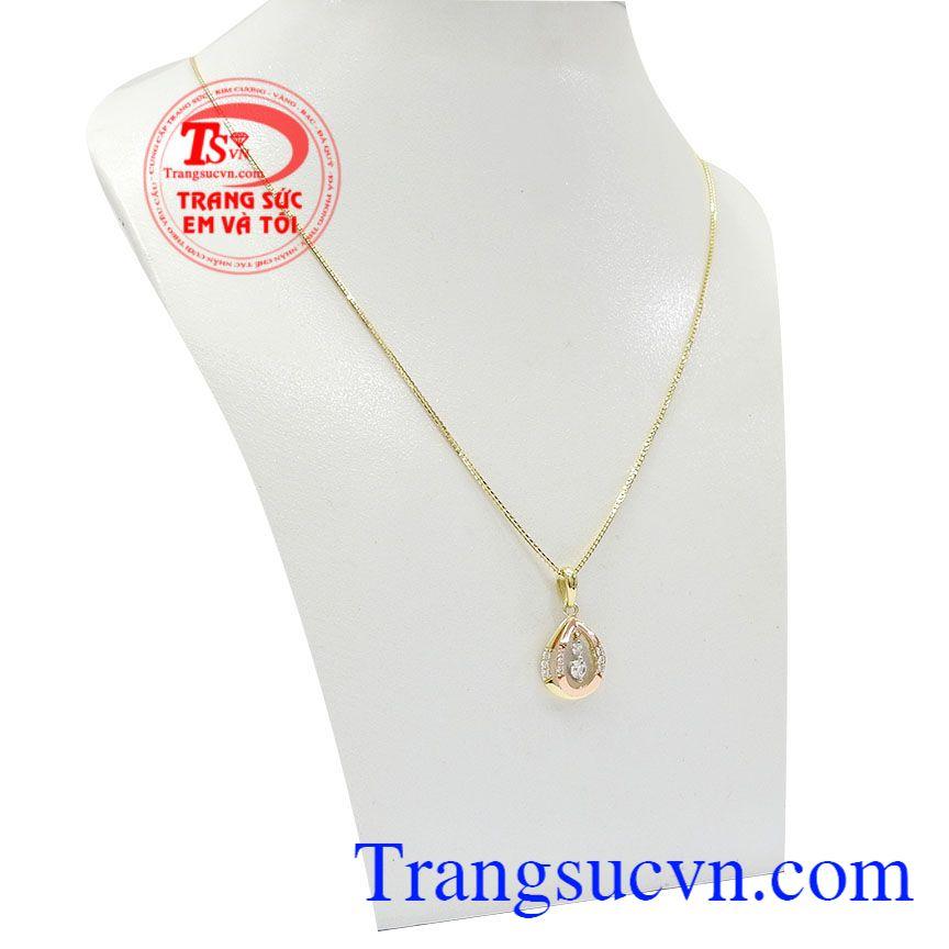 Bộ sản phẩm mang vẻ đẹp dịu dàng trang nhã thích hợp với mọi lứa tuổi,Bộ dây vàng nữ nhã nhặn
