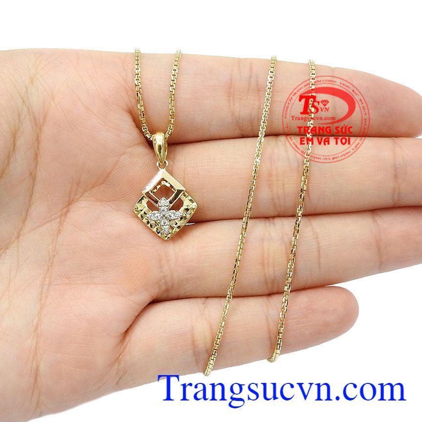 Sản phẩm thích hợp làm quà tặng cho người thân hoặc bạn bè,Bộ dây vàng nữ tinh tế