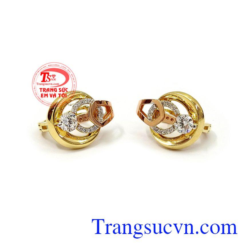 Hoa tai nữ vàng đẳng cấp thời trang là dòng sản phẩm rất được phái đẹp ưa chuộng, mang lại sự tinh tế, thời trang và đẳng cấp phái đẹp