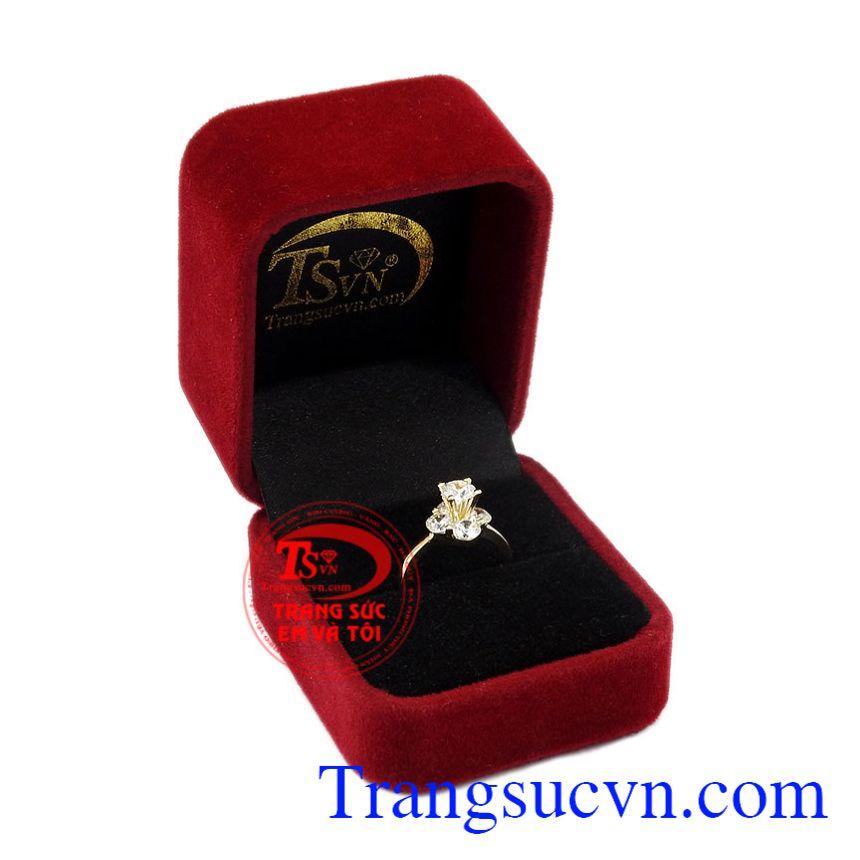 Nhẫn nữ vàng ấn tượng