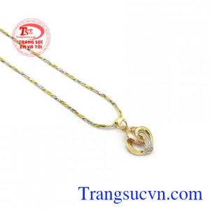 Bộ dây chuyền nữ trái tim tình yêu thương hiệu uy tín, chất lượng, giao hàng nhanh trên toàn quốc, thanh toán an toàn