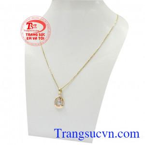 Sản phẩm thích hợp làm quà tặng cho một nửa dịu dàng của bạn,Bộ dây vàng nữ nhã nhặn