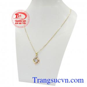 Sản phẩm thích hợp làm quà tặng cho người thân hoặc bạn bè,Bộ dây vàng nữ trang nhã
