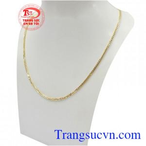 Dây chuyền nam vàng tây phong độ phù hợp nhiều phong cách và trang phục khác nhau
