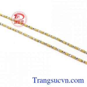 Dây chuyền nữ vàng tây phong cách thương hiệu uy tín, chất lượng, bảo hành 12 tháng, giao hàng nhanh trên toàn quốc
