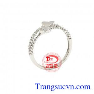 Nhẫn nữ trái tim đẹp