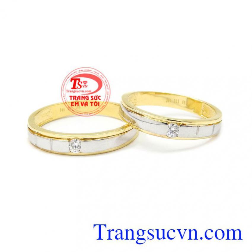 Nhẫn cưới vàng chung đôi