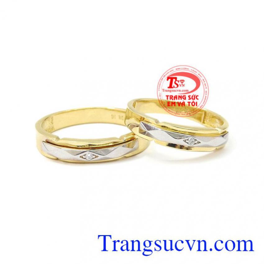 Nhẫn cưới vàng chung thủy