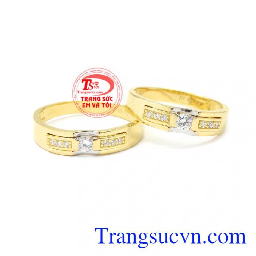 Nhẫn cưới vàng vĩnh cửu