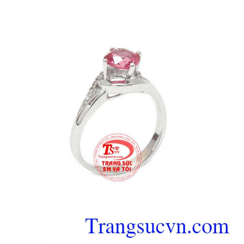 Nhẫn nữ Spinel đá quý