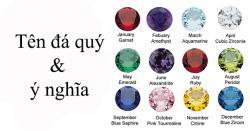 Tên đá quý & ý nghĩa