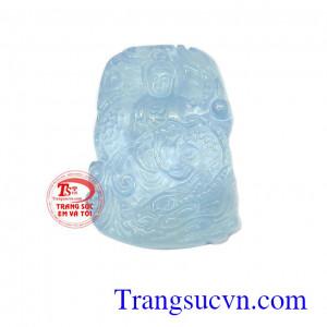 Mặt dây aquamarine bình yên