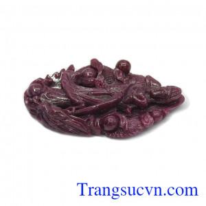 Phật quan âm ruby