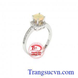 Nhẫn nữ Opal đẳng cấp