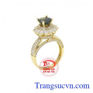 Nhẫn nữ saphir thịnh vượng