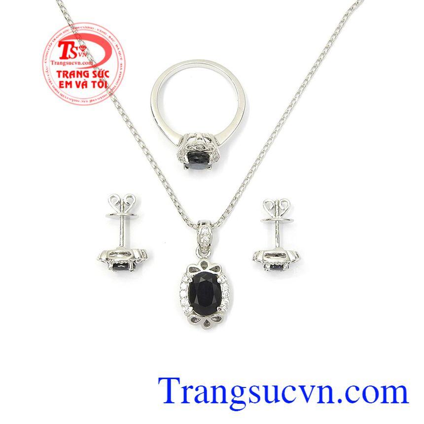 Bộ trang sức Sapphire thịnh vượng phù hợp làm quà tặng ý nghĩa cho người thân yêu
