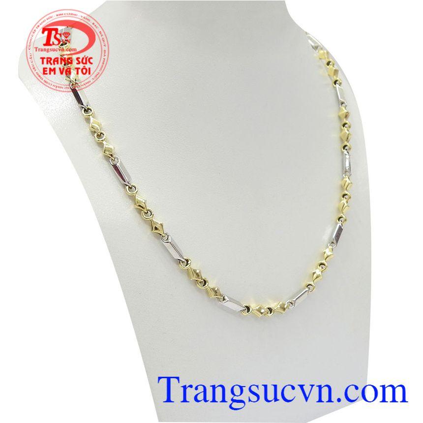 Dây chuyền nam vàng thời thượng 10k nhập khẩu nguyên chiếc từ Italy kiểu dáng đẹp, chất lượng vàng đảm bảo