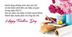 Hãy làm điều này trong ngày nhà giáo Việt Nam