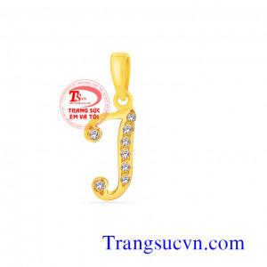 Mặt chữ J vàng