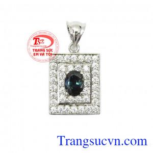 Mặt dây Sapphire nữ quý tộc