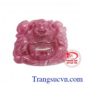 Phật di lặc ruby thịnh vượng
