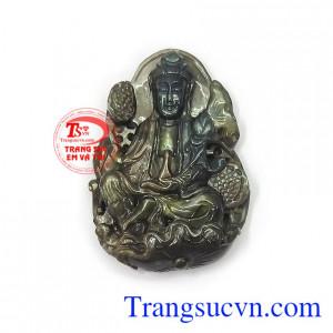Phật Quan Âm Sapphire bình an