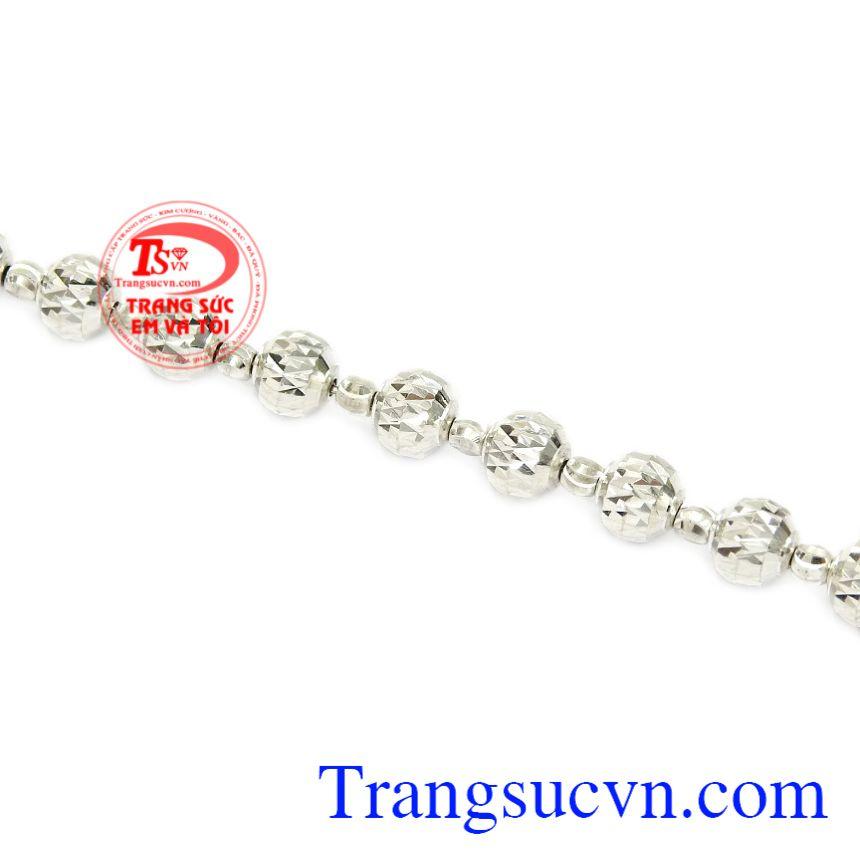 Lắc tay nữ bi bạc chất lượng giao hàng trên toàn quốc.