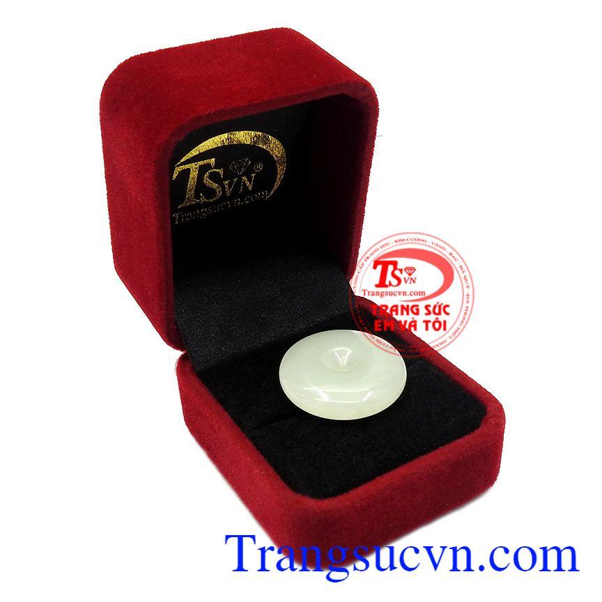Thích hợp làm quà tặng cho người thân và bạn bè,Mặt đồng xu Jadeite phú quý