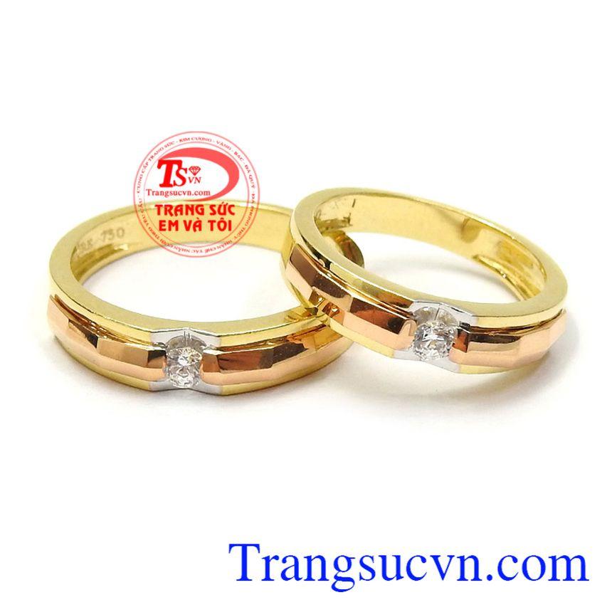 Nhẫn cưới hạnh phúc an yên
