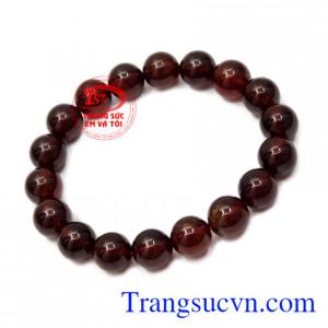 Chuỗi tay đá Garnet thiên nhiên, chất lượng giao hàng trên toàn quốc.