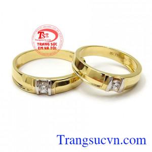 Nhẫn cưới tình yêu hòa hợp