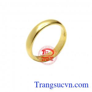 Nhẫn nữ tròn đẹp