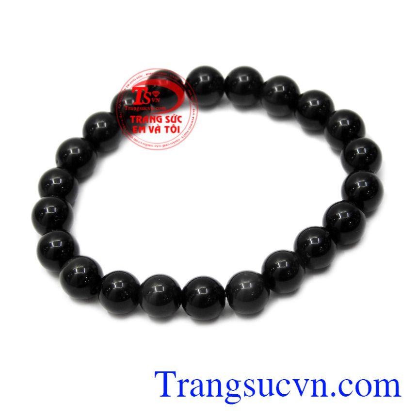 Chuỗi tay Obsidian 8ly thiên nhiên là biểu tượng của chòm sao Ma Kết, Nhân Mã, Sư Tử.