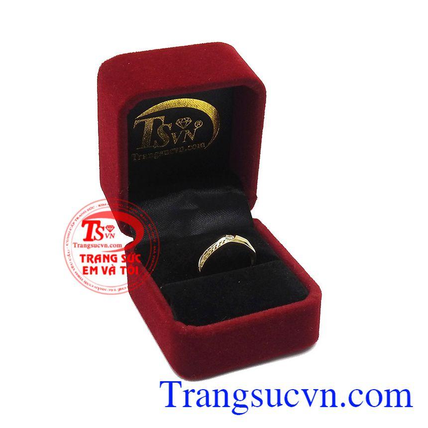 Sản phẩm được bảo hành uy tín, giao hàng toàn quốc. Nhẫn nam vàng thành công