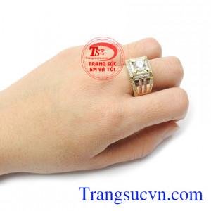 Nhẫn nam vàng tây phong độ uy tín, chất lượng, giá cả hợp lý, bảo hành 12 tháng