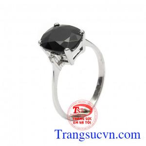 Nhẫn nữ bạc Sapphire độc đáo