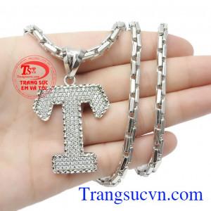 Bộ dây là sản phẩm hoàn hảo để khẳng định đẳng cấp của phái mạnh,Bộ dây vàng trắng nam chữ T