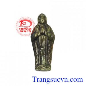 Mặt saphir Đức mẹ cầu nguyện