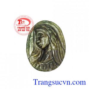 Mặt saphir Đức mẹ Maria nhân từ