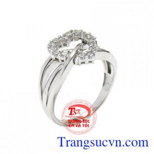Nhẫn nữ sắc màu tình yêu