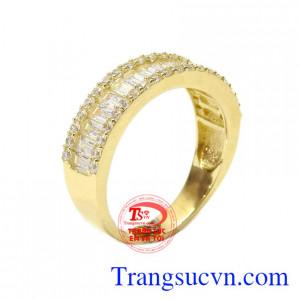Nhẫn nữ vàng kiểu cách