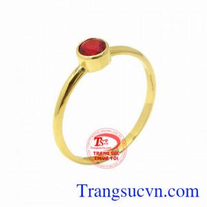 Nhẫn nữ vàng kiều diễm