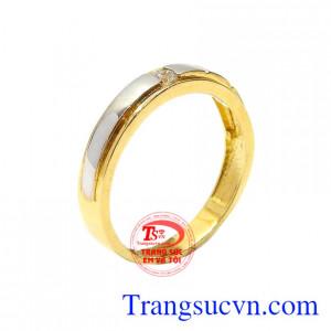 Nhẫn nữ vàng thịnh vượng