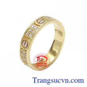 Nhẫn nữ vàng thời trang cá tính