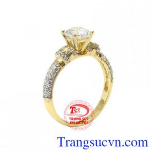 Nhẫn nữ vàng tình yêu kì diệu