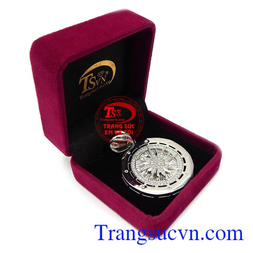 Mặt dây chuyền bạc thương hiệu bền đẹp, chất lượng, giao hàng nhanh, thanh toán an toàn