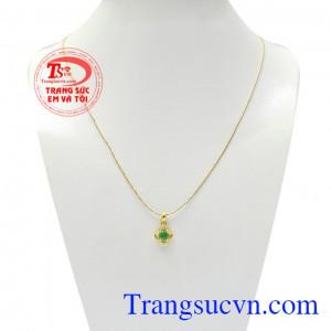 Bộ dây Emerald quý phái