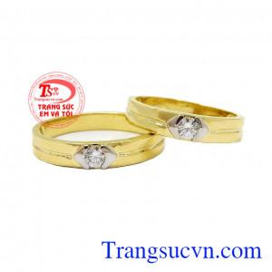 Nhẫn cưới bến đỗ tình yêu